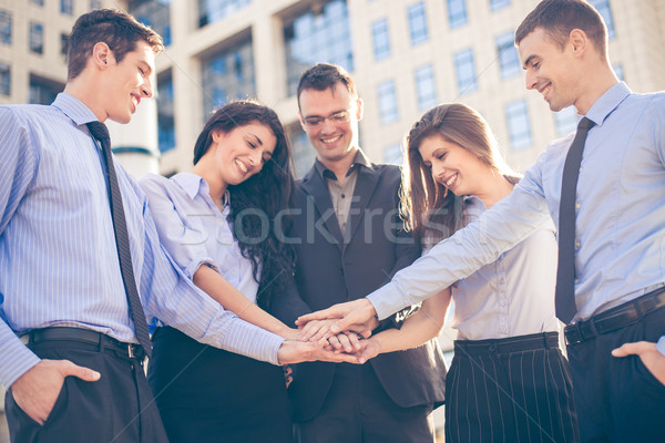Together To Success Stock photo © MilanMarkovic78