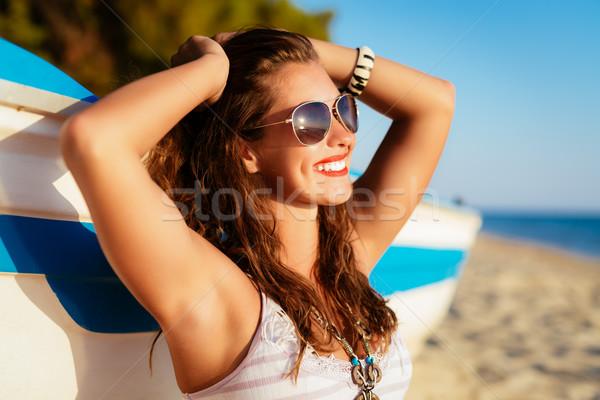 Foto d'archivio: Tempo · godere · bella · rilassante · spiaggia