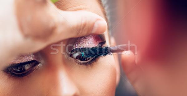 Modelo ojo Foto stock © MilanMarkovic78
