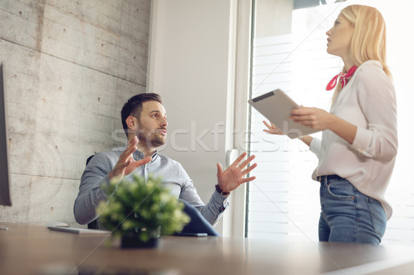 I Just Can't Continue Like This... Stock photo © MilanMarkovic78