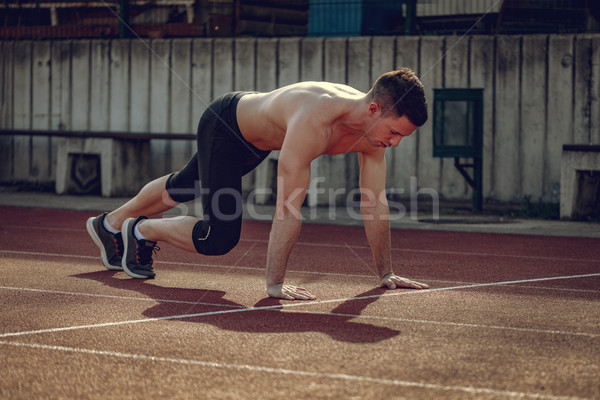 He Lives For His Daily Run Stock photo © MilanMarkovic78