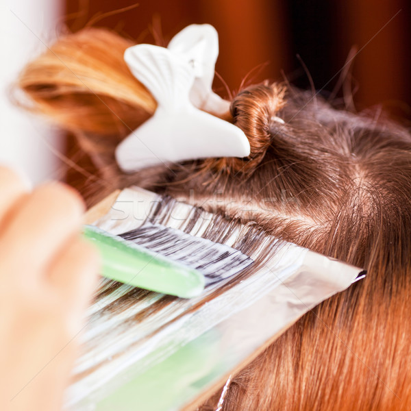 Hair coloring Stock photo © MilanMarkovic78