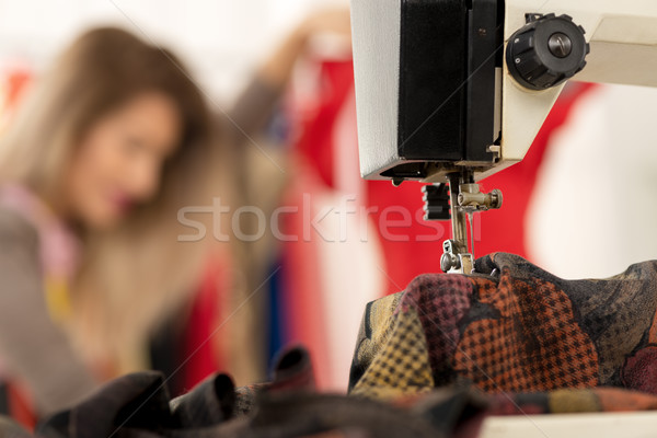 Close-up Of Sewing Stock photo © MilanMarkovic78