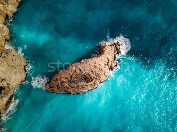 Aerial View Of Mediterranean Cliffs  Stock photo © MilanMarkovic78