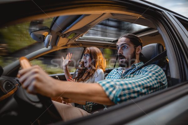 Oh my God, We Are Going To Crash! Stock photo © MilanMarkovic78