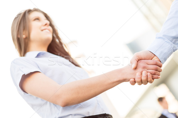 Business Handshake Stock photo © MilanMarkovic78