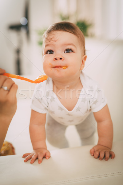 Cute Baby Boy Stock photo © MilanMarkovic78