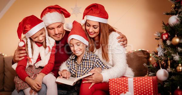 Christmas Family Time Stock photo © MilanMarkovic78