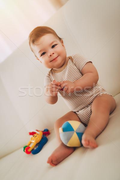 Stock photo: Cute Baby Boy