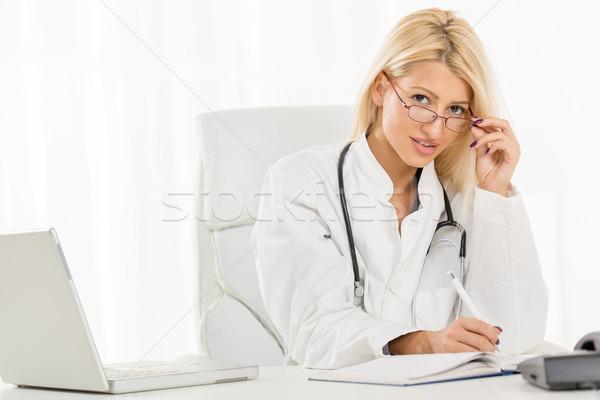 Female Doctor Stock photo © MilanMarkovic78
