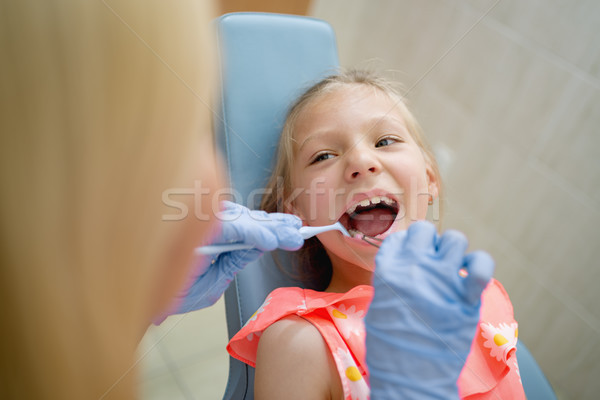 First Dental Visit Stock photo © MilanMarkovic78