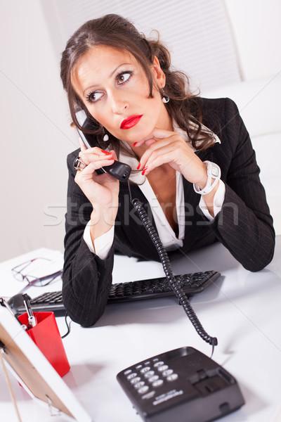 Attractive Secretary Stock photo © MilanMarkovic78