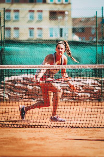 Female Tennis Player Stock photo © MilanMarkovic78