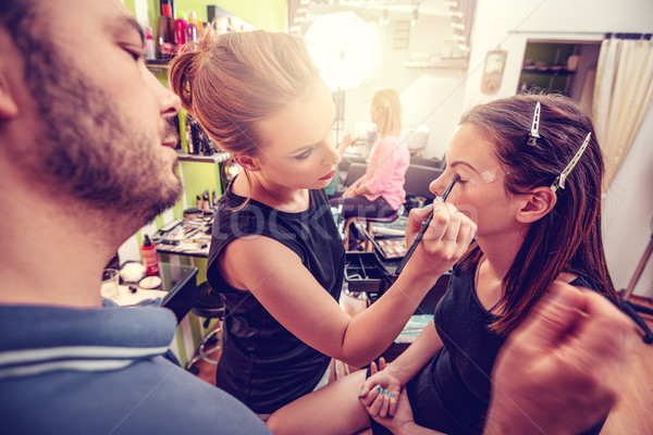 Makeup Academy Stock photo © MilanMarkovic78