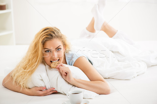 Good morning! Stock photo © MilanMarkovic78