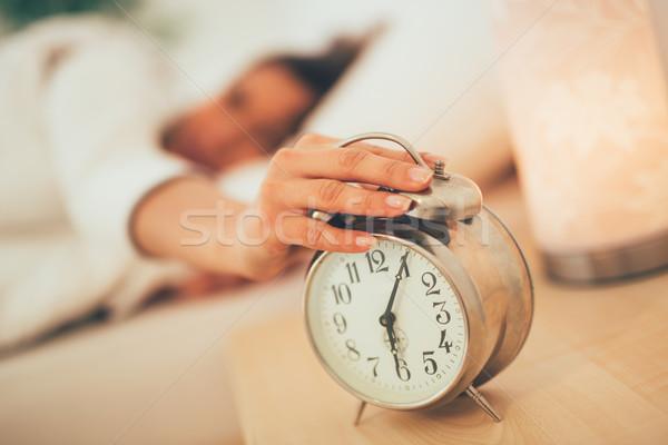 Waking Up Stock photo © MilanMarkovic78