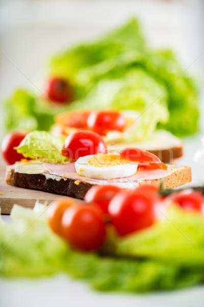 Fresh Sandwich Stock photo © MilanMarkovic78