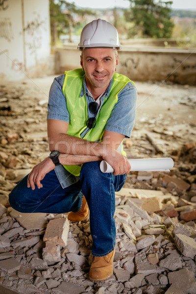 Head Of The Construction Sites Stock photo © MilanMarkovic78