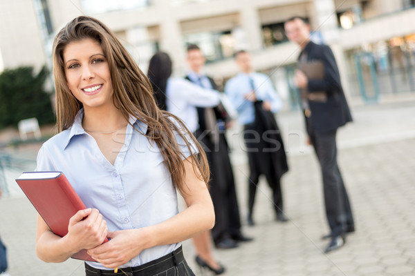 Young Businesswoman With Planner Stock photo © MilanMarkovic78