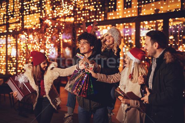 ストックフォト: クリスマス · ショッピング · 小さな