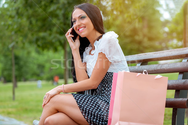 Tell Everybody About This Shop! Stock photo © MilanMarkovic78