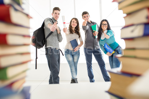 Stock photo: Successful Students