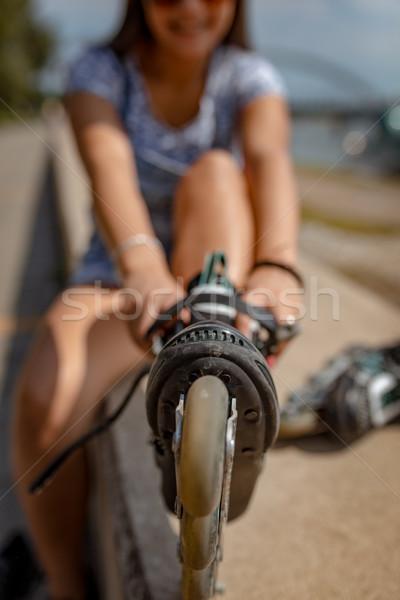 Roller Skating Stock photo © MilanMarkovic78
