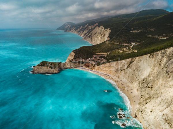 Beautiful Mediterranean Coast Stock photo © MilanMarkovic78