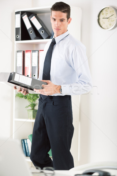 Businessman in the office Stock photo © MilanMarkovic78