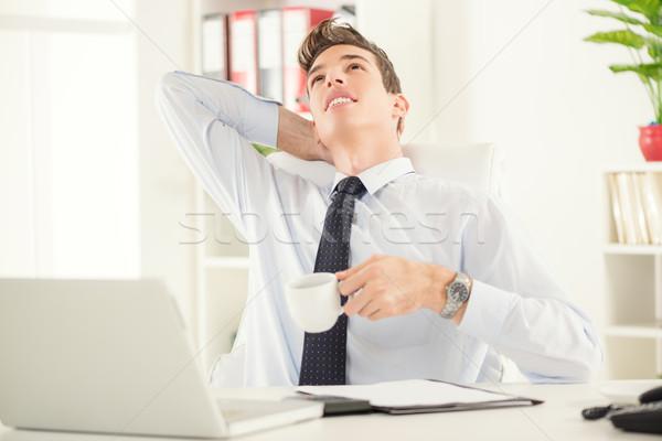 Break In Office Stock photo © MilanMarkovic78