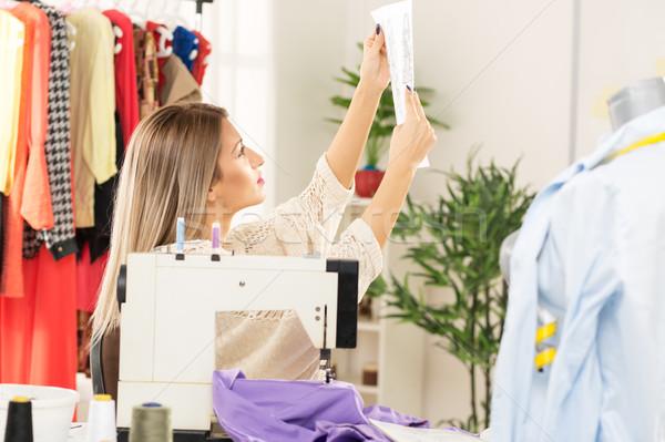 Designing Clothes Stock photo © MilanMarkovic78