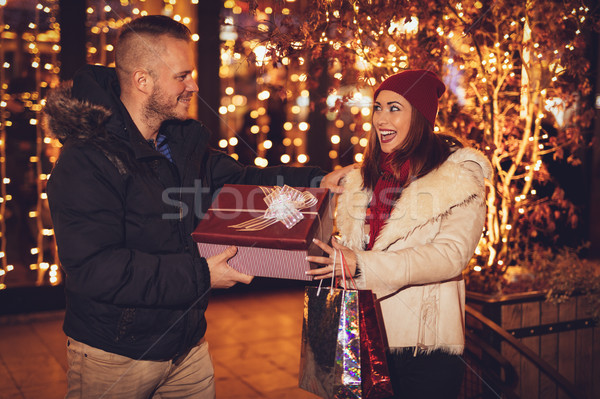 Merry Christmas My Love  Stock photo © MilanMarkovic78
