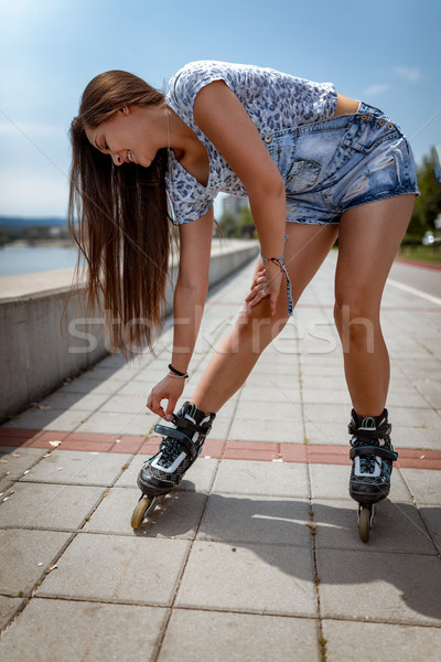 Young Female Skater Stock photo © MilanMarkovic78