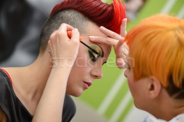 Make-up Artist Stock photo © MilanMarkovic78