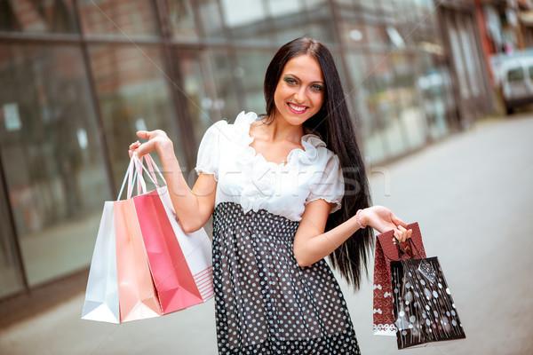 Summer Fashion Shopping Stock photo © MilanMarkovic78