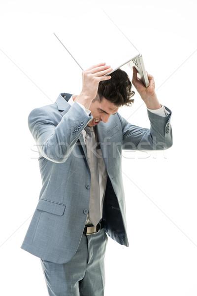 бизнеса разочарование молодые сердиться бизнесмен Постоянный Сток-фото © MilanMarkovic78
