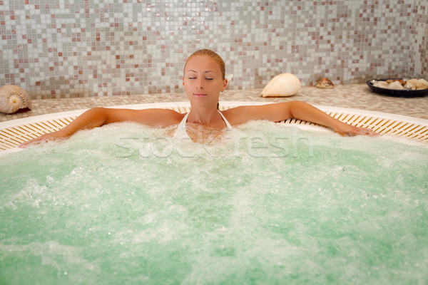 Girl In The Spa Stock photo © MilanMarkovic78