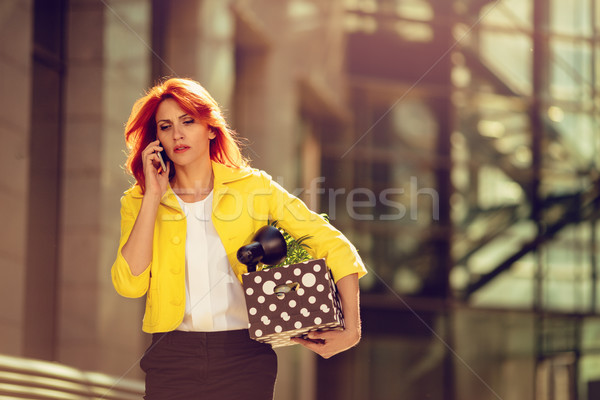 I Have Got Fired Stock photo © MilanMarkovic78
