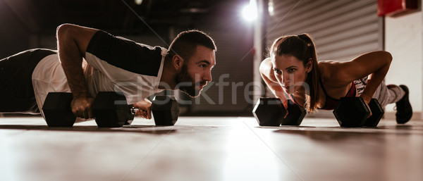 Push-Up Stock photo © MilanMarkovic78