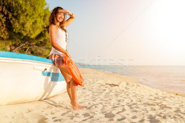 Summer Girl Stock photo © MilanMarkovic78
