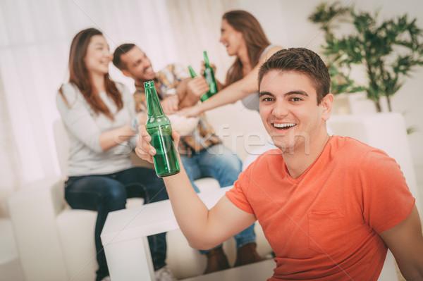 Cheers! Stock photo © MilanMarkovic78
