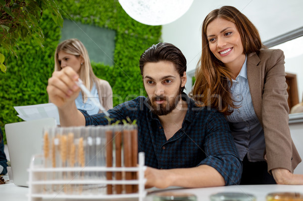 Scientist Making Experiment Stock photo © MilanMarkovic78