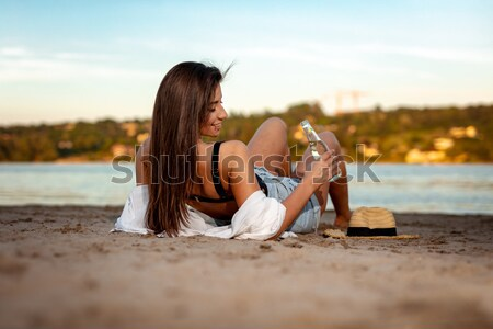 The Beach Is Where I Belong Stock photo © MilanMarkovic78