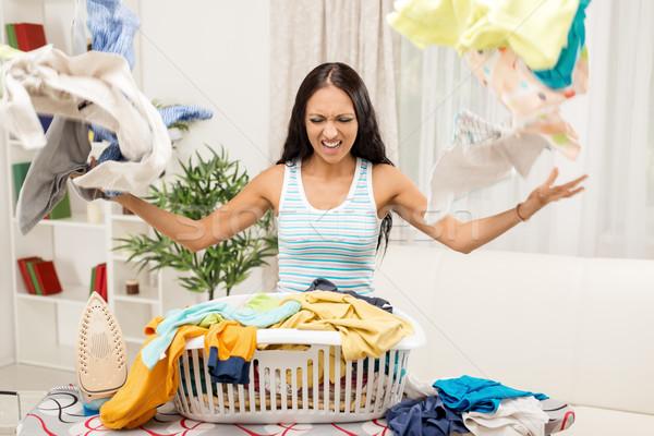 молодые домохозяйка Постоянный совета Сток-фото © MilanMarkovic78
