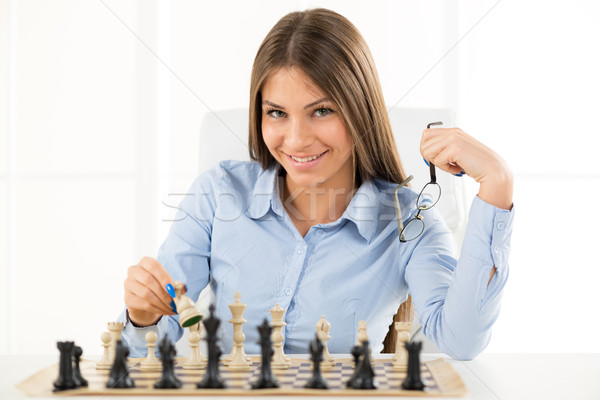 Young Businesswoman Confident In Her Moves Stock photo © MilanMarkovic78