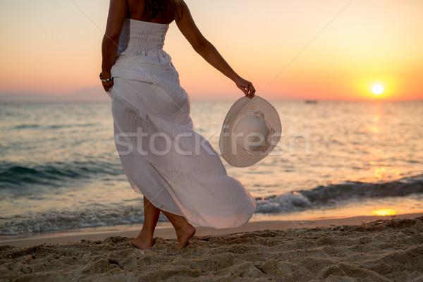 Enjoying In The Sunset Stock photo © MilanMarkovic78