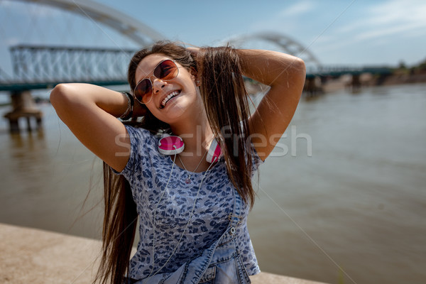 Sunny Days Bring Out The Smiles Stock photo © MilanMarkovic78