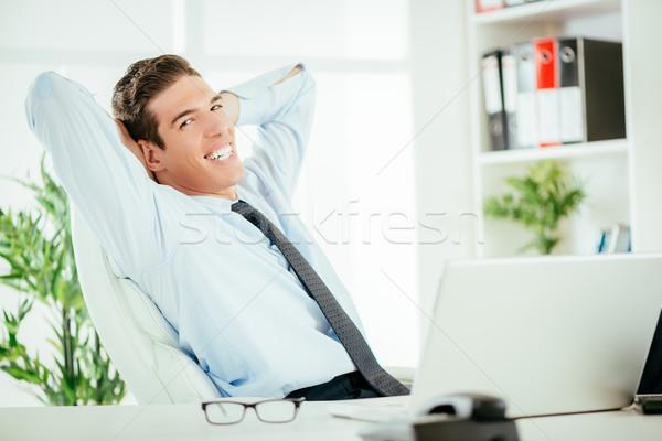 Successful Boss Stock photo © MilanMarkovic78