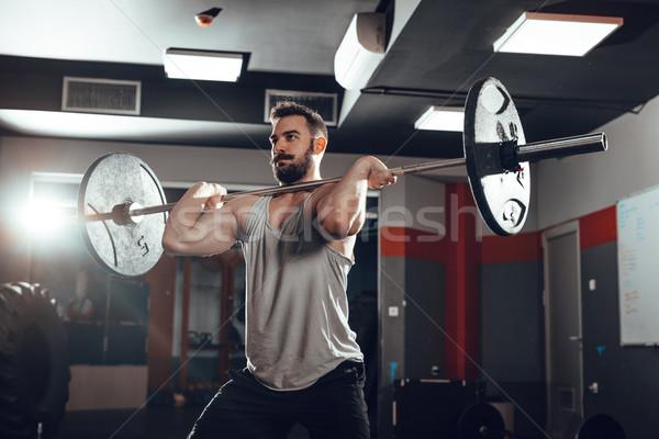 強い 小さな 筋肉の 男 ストックフォト © MilanMarkovic78