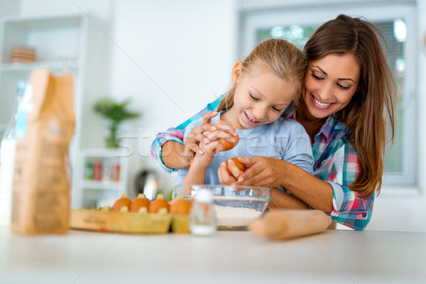 Homemade Food And Little Helper Stock photo © MilanMarkovic78